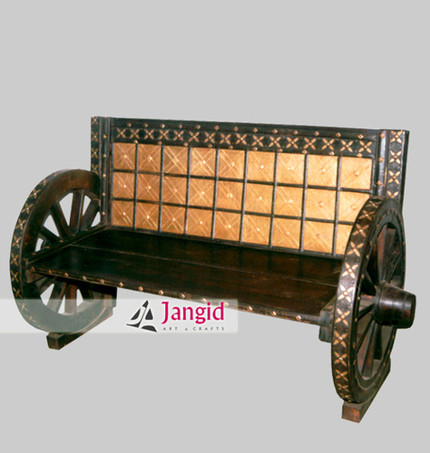 Handmade Traditional Indian Cart Furniture