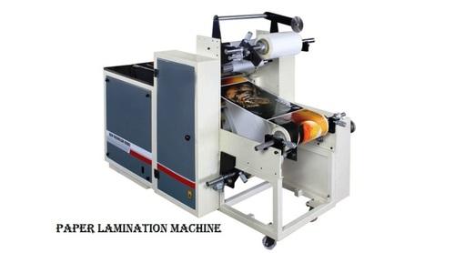 PAPER DONA PLATE LAMINATION MACHINE
