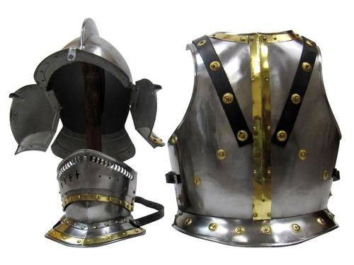 Knight Bergonet Costume