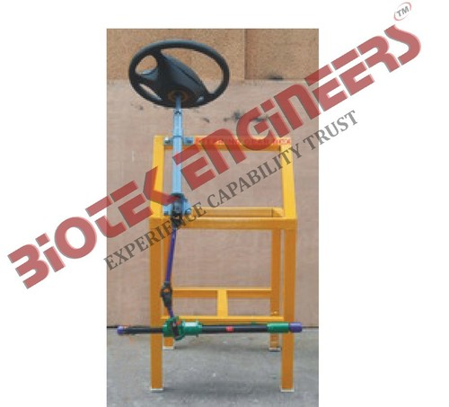 Actual Cut Section Car Steering Unit
