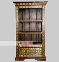 Indian Traditional Wooden Bookshelf