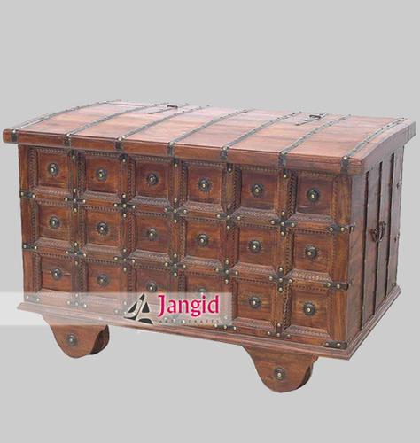 Antique Traditional Cart Treasure Box