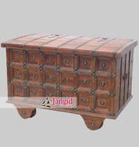 Antique Traditional Cart Treasure Box