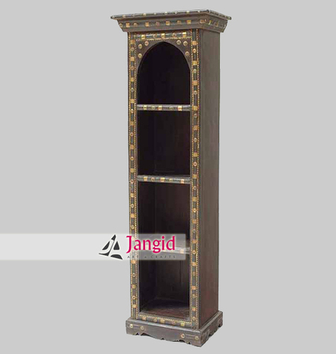 Indian Cart Wooden Handmade Bookcase
