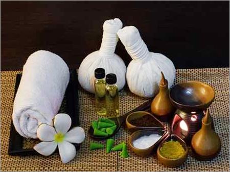 Aroma Oil Massage