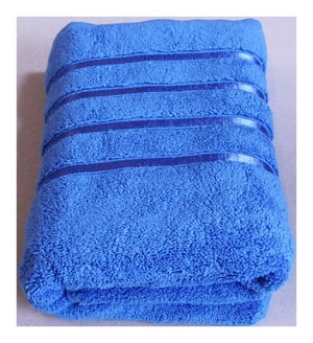Aqua Sky Colour Bath Towel
