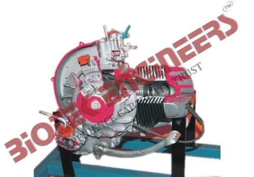 2 Stroke 1 Cylinder Scooter Engine
