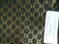 polyster paisa & chavni net fabric