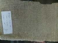 cotton zari fish net fabric