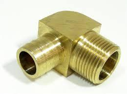 Brass Hose Barb Elbow