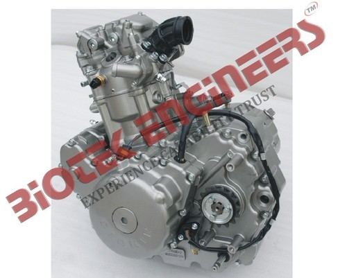 4 Stroke 1 Cylinder Motor Cycle Engine