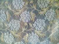 New Important Raschel Zari Dyeable Net Fabric