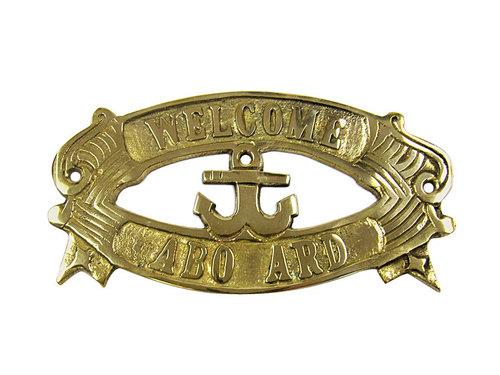 Brass Sign