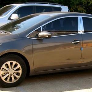 Car Chrome Window Garnish