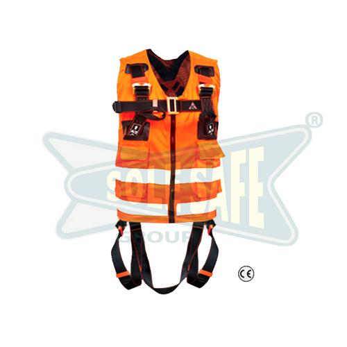 KARAM Safety Harness Reflective Vest