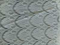 Polyster lace patta net fabric