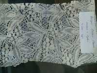 cotton tops garment flower net fabric