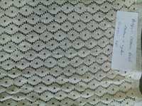 Cotton Burfi Paisa Jacquard Net Fabric