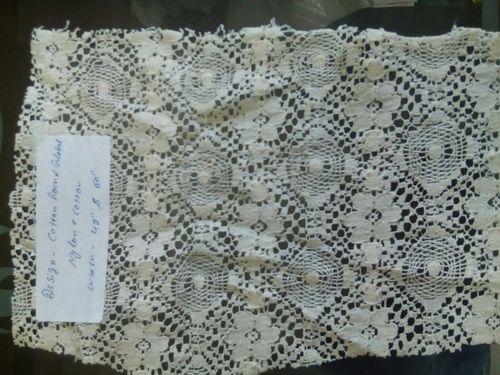 Cotton Jacquard Net Fabric
