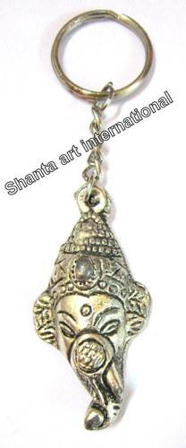 Key Ring Ganesh Face