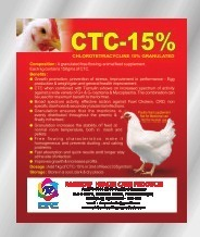 Chlortetracycline 15% Granulated