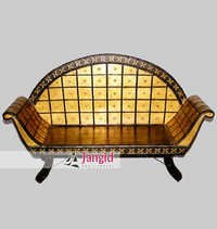 Wooden Cart Indian Living Room Sofa