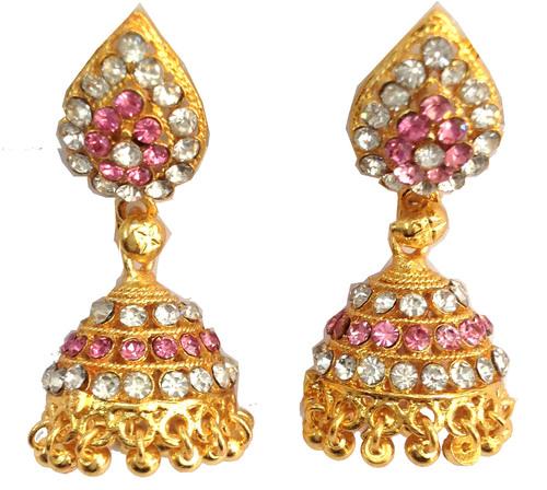 Imitation Gold Plated Jhumki