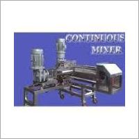 Continuous Mixing Machine