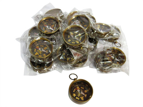 Key Chain Compass Set Of 25