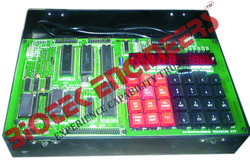 Microprocessor Training Kit With Inbuilt Power Supply