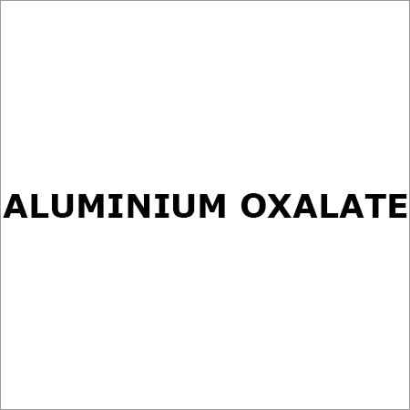 ALUMINIUM OXALATE