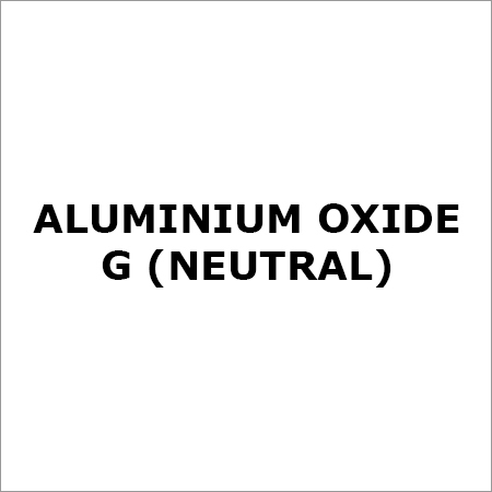 ALUMINIUM OXIDE G (NEUTRAL)