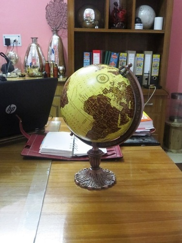 The History Of The Globe With Stand