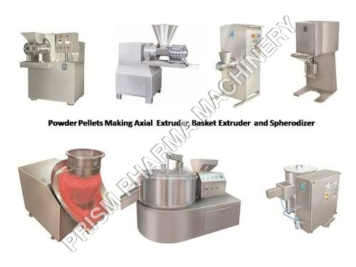 Powder Pellet Extruder & Spherodizer