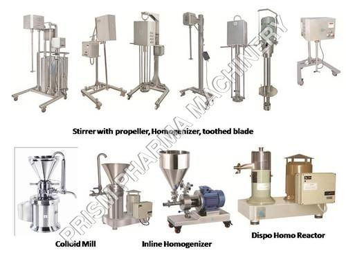 Homogenizer Stirrer