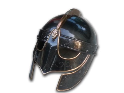 Wolf Black Armor Helmet
