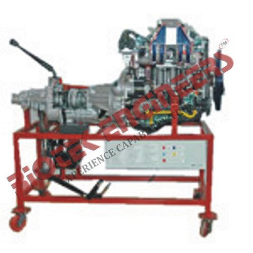 Car Engine Petrol : Handle Driven
