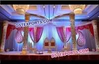 Wedding Golden Butterfly Mandap