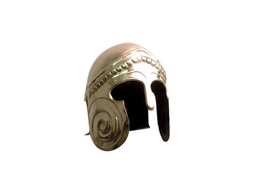 Brass Chalcidian Armor Helmet