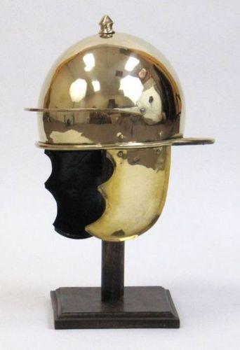 Monti Fortino Brass Armor Helmet
