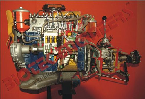 Car Engine Diesel : Motor Driven