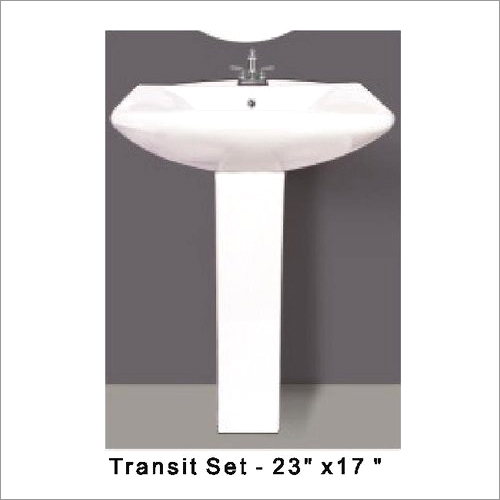 """Transit Pedestal Wash Basin 23"""" x 17"""""""