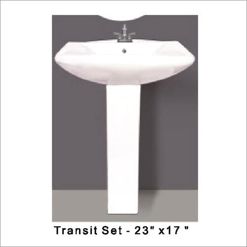 Transit Pedestal Wash Basin 23