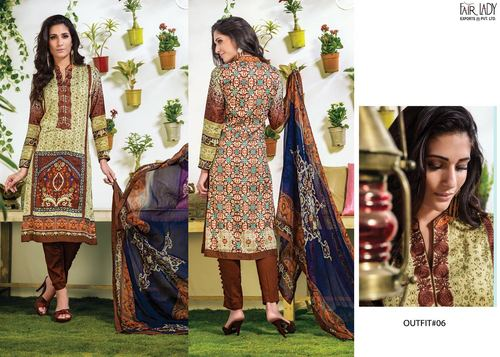 Designer Printed Cotton Collection Suit
