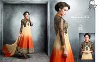 Latest Semi Stitched Salwar Suit