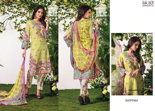 Cotton Designer Dress Material