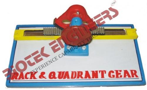 Rack & Quadrant Gears