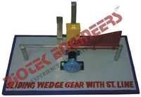 Sliding Wedge Gear with Straight Line