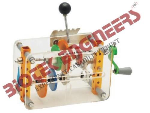 Gear Box (3 Speed & Reverse Gear)