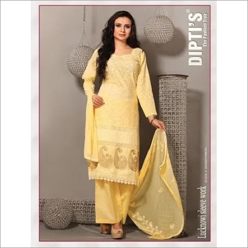 Lucknowi Traditional Churidar Suit